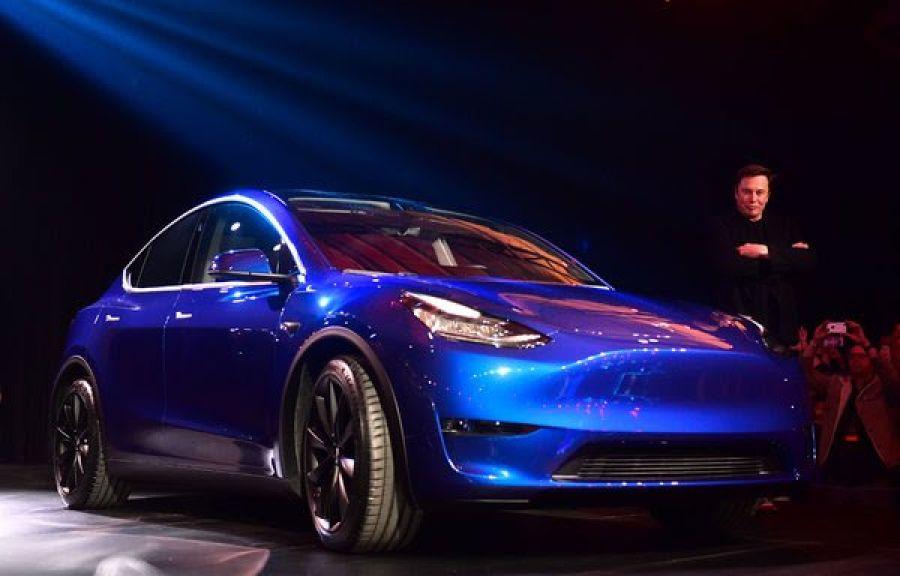 Diga olá ao novo carro da Tesla, o Modelo Y